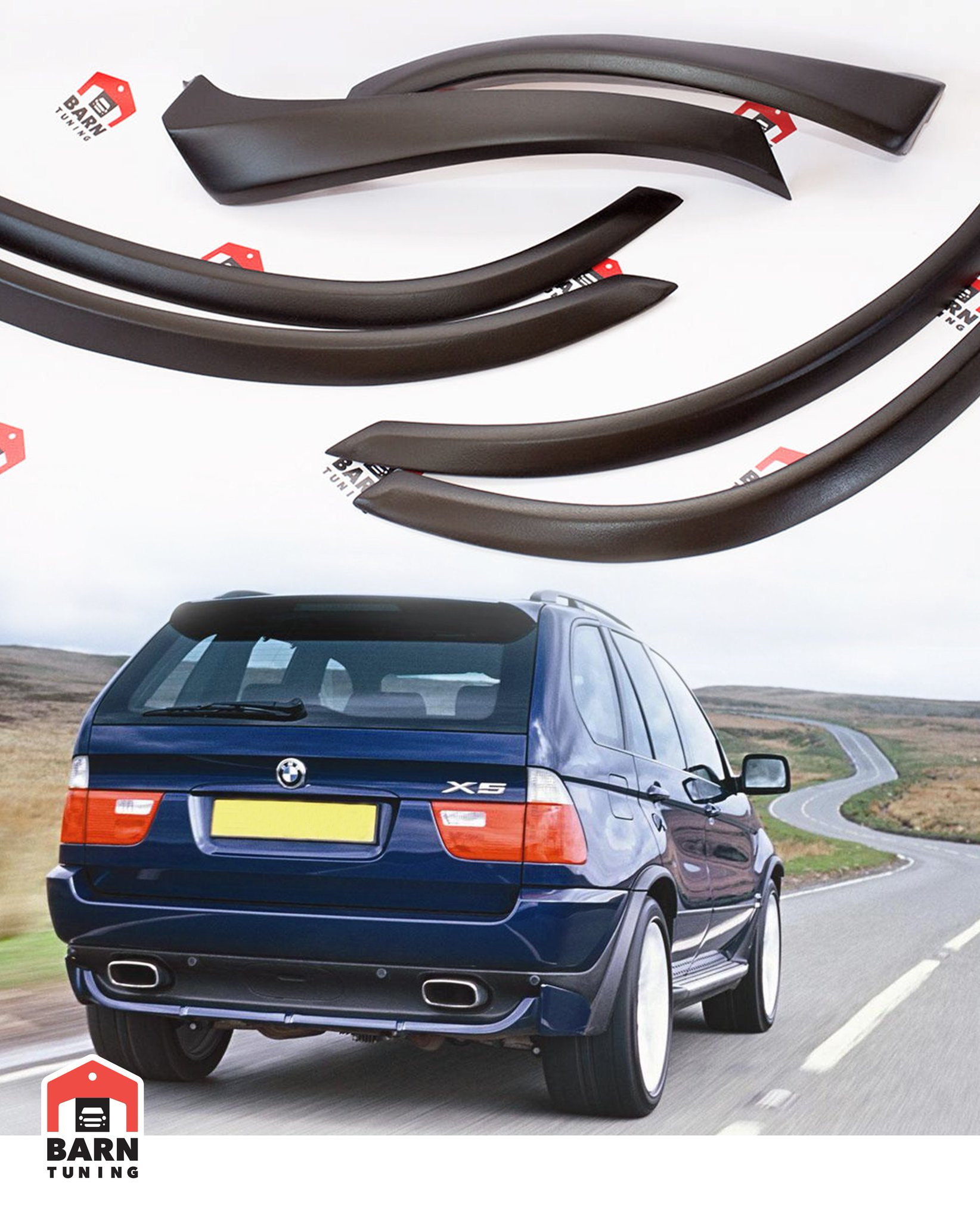 Barn Tuning On Twitter Bmw X5 E53 4 6is 4 8is Style Fender Flares For 112 Free Shipping Worldwide Https T Co 7kbse5fvnv Sale Ebay Tuning Wide X5 Fiberglass Bestprice Bmw