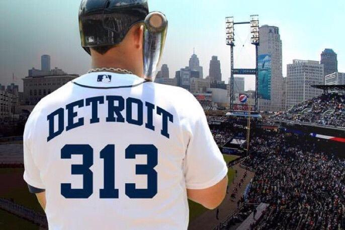 Detroit Tigers's photo on #313Day