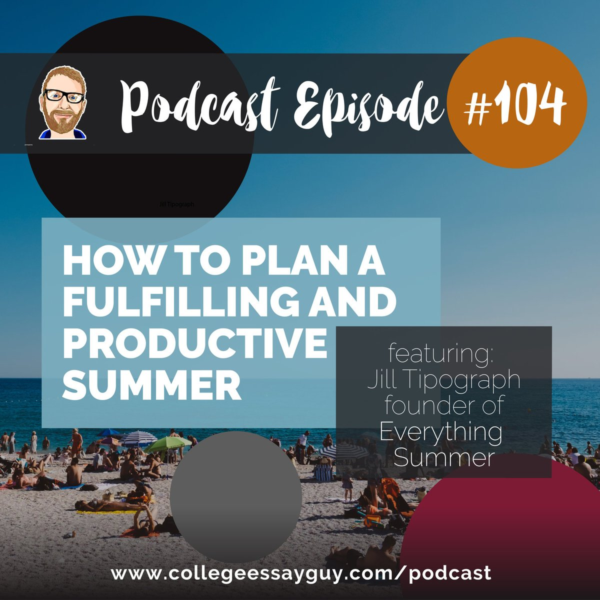 """Summer may feel like an eternity away, but for those of you who like to plan things in advance, here's a podcast episode and guide for you:  CEG Podcast, Episode 104: """"How to Plan a Fulfilling and Productive Summer"""" (featuring Jill Tipograph)  🎧 Listen: goo.gl/yhbNaJ"""