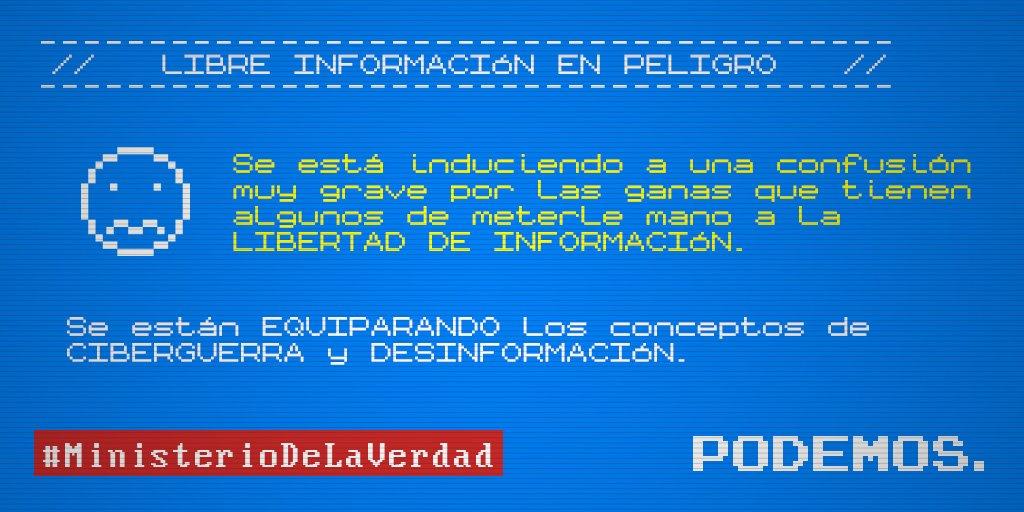 Pablo Iglesias's photo on #MinisterioDeLaVerdad
