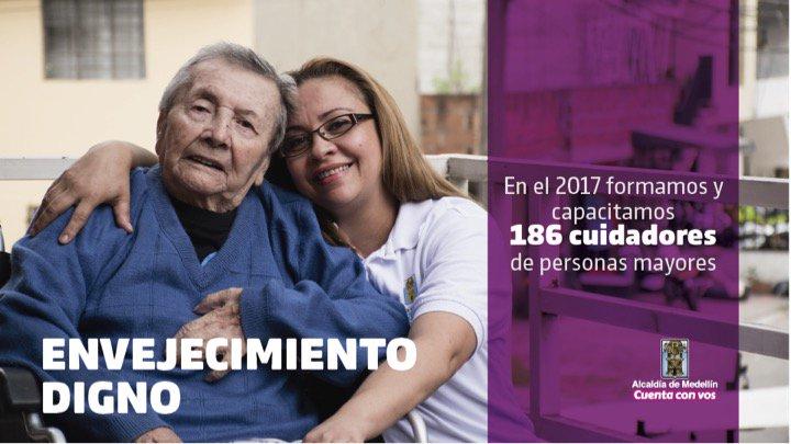Envejecimiento digno. #2AñosConVos https...