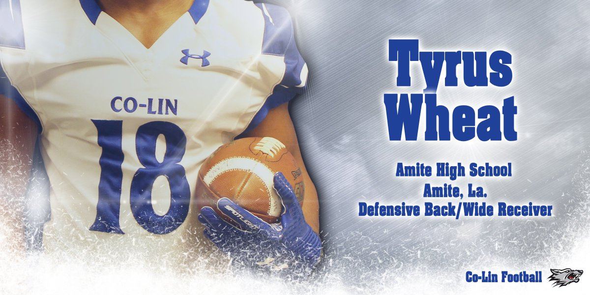 Welcome to #ThePack Tyrus Wheat!