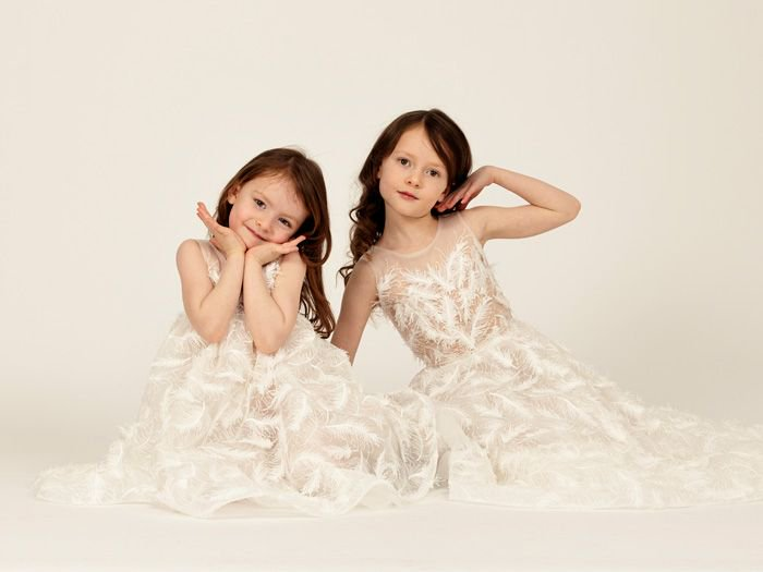 0015a2d1b50 Flower girl dress inspo incoming from  EleganzaSposa! See more from this  adorable collection here     http   bit.ly FlowerGirlEleganza  …pic.twitter.com  ...