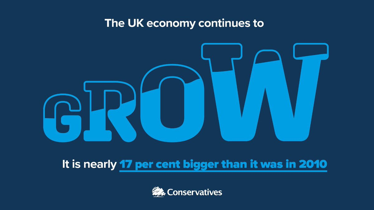 With a strong economy we can continue to create jobs, invest in public services and build a country that works for everyone. #SpringStatement