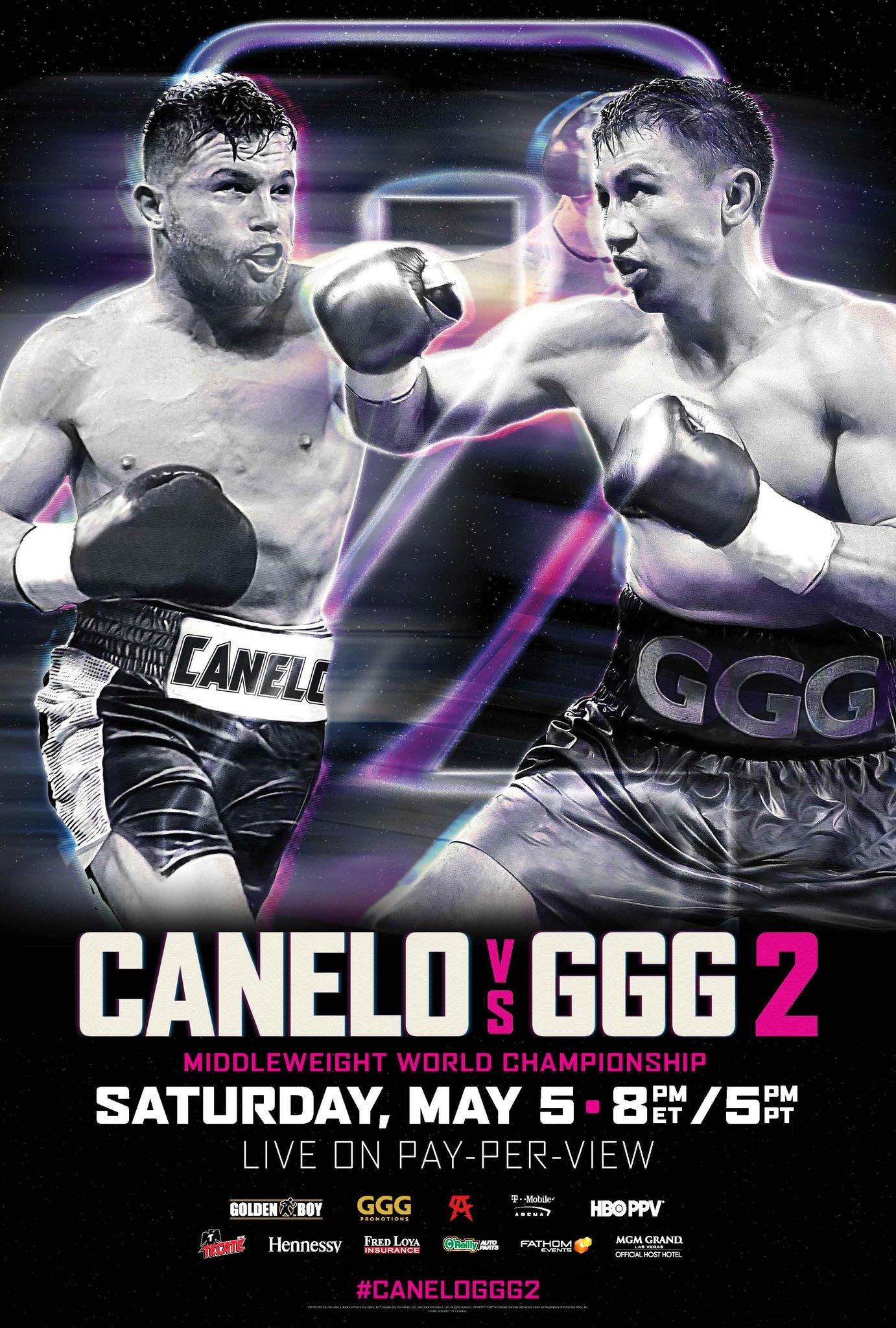Canelo Alvarez vs. Gennady Golovkin II