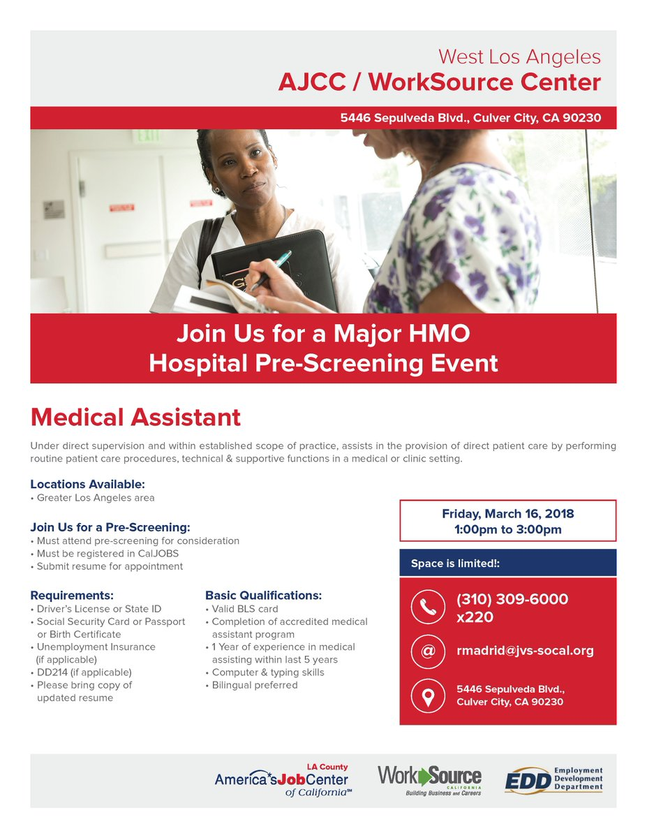 Hiringspree La On Twitter Hiring Medical Assistants For Major Hmo