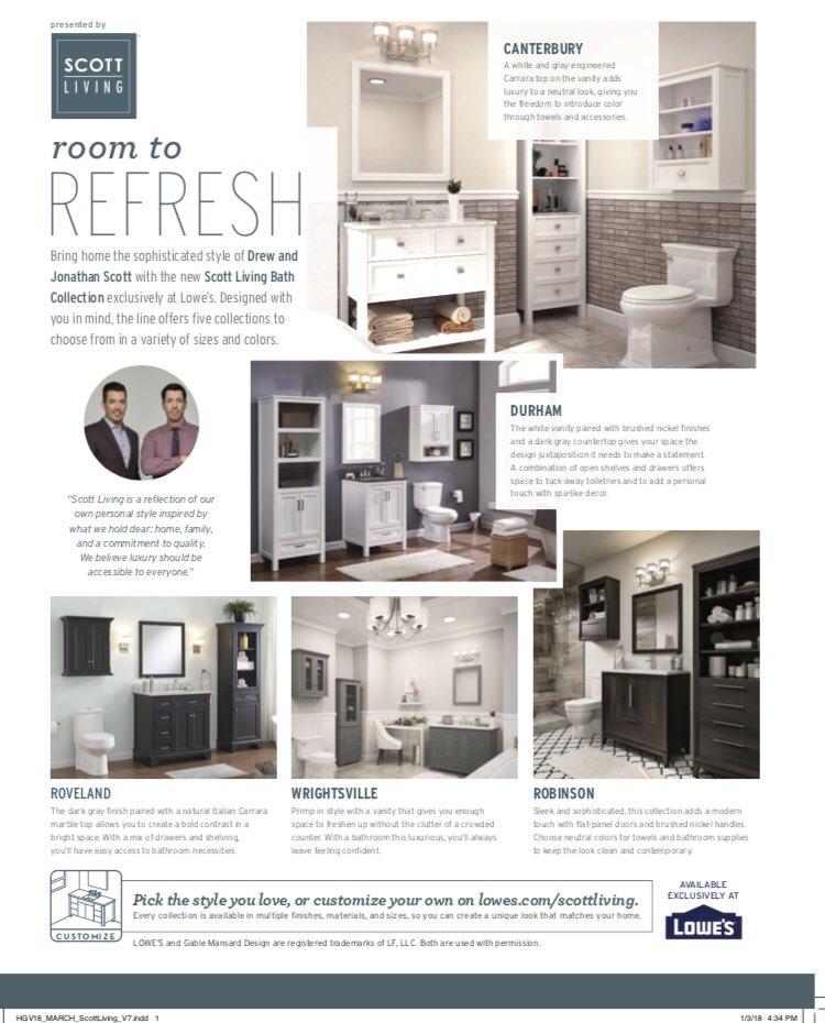 Lowes Bathroom Vanity Property Brothers