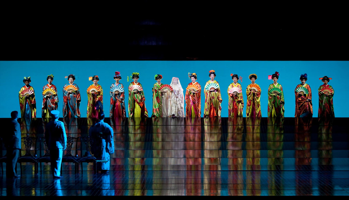Reloaded twaddle – RT @MMATOpera: Plans tonight in #NewYork?Puccini's Madama Butterfly at #MetOper...
