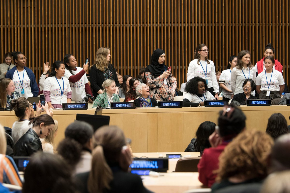 I met today with Civil Society Organizations attending #CSW62. I was energized by their active engagement and passion towards women's rights and equality for all. bit.ly/2p8y5R4
