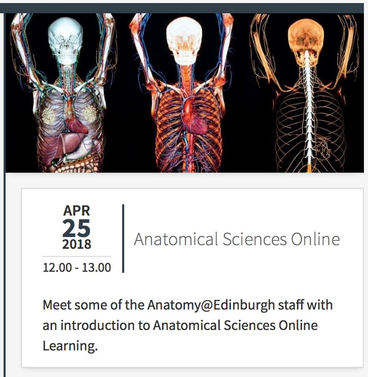 Anatomical Sciences on Twitter: \