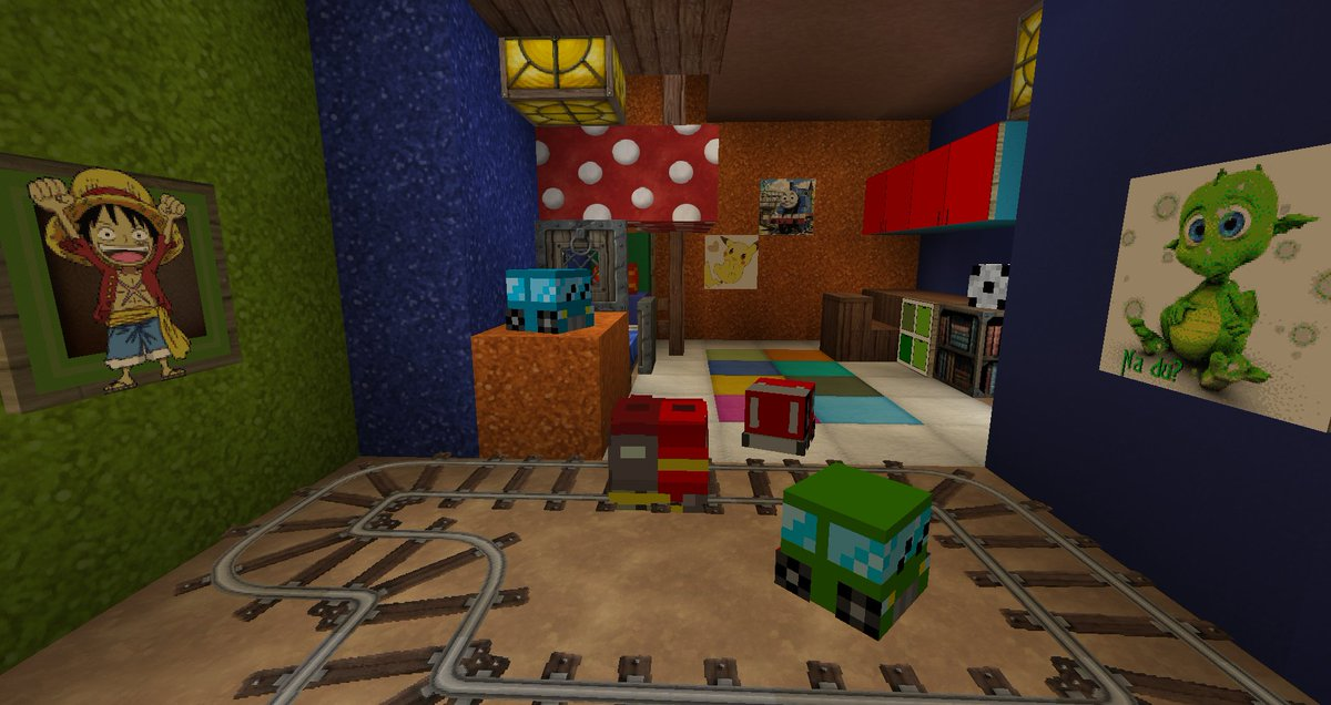 Minecraft Heads Com On Twitter Children S Room By Adurna Life King