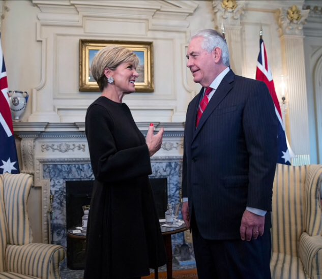While Australia was sleeping: Donald Trump fired Secretary of State Rex Tillerson. CIA chief Mike Pompeo has been nominated as his replacement.