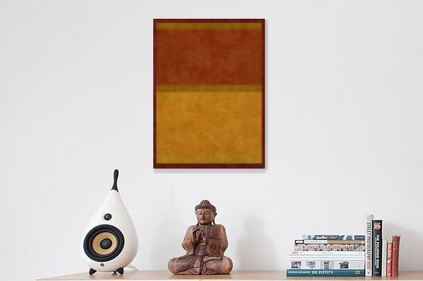Color Field Painting Wall Art