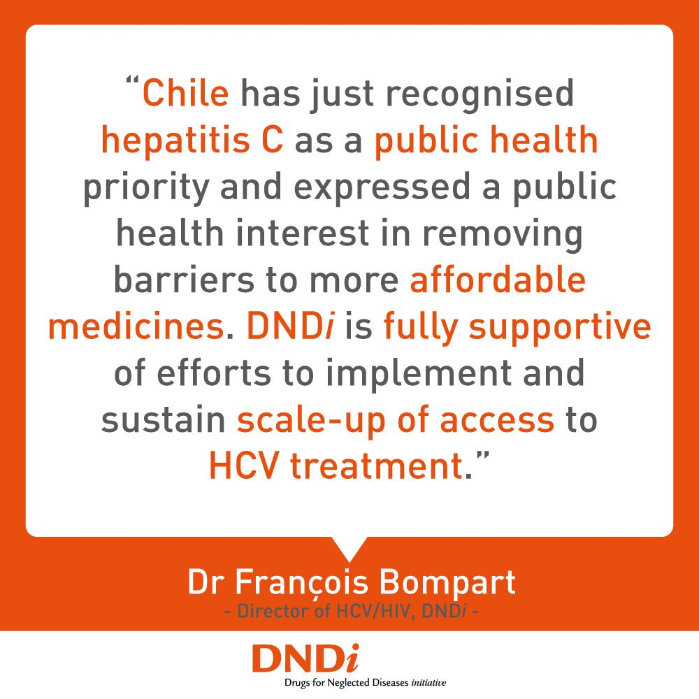 Our reaction to the Chilean Ministry of Health's announcement about supporting access to more affordable #hepatitisC treatments. https://www.keionline.org/27163