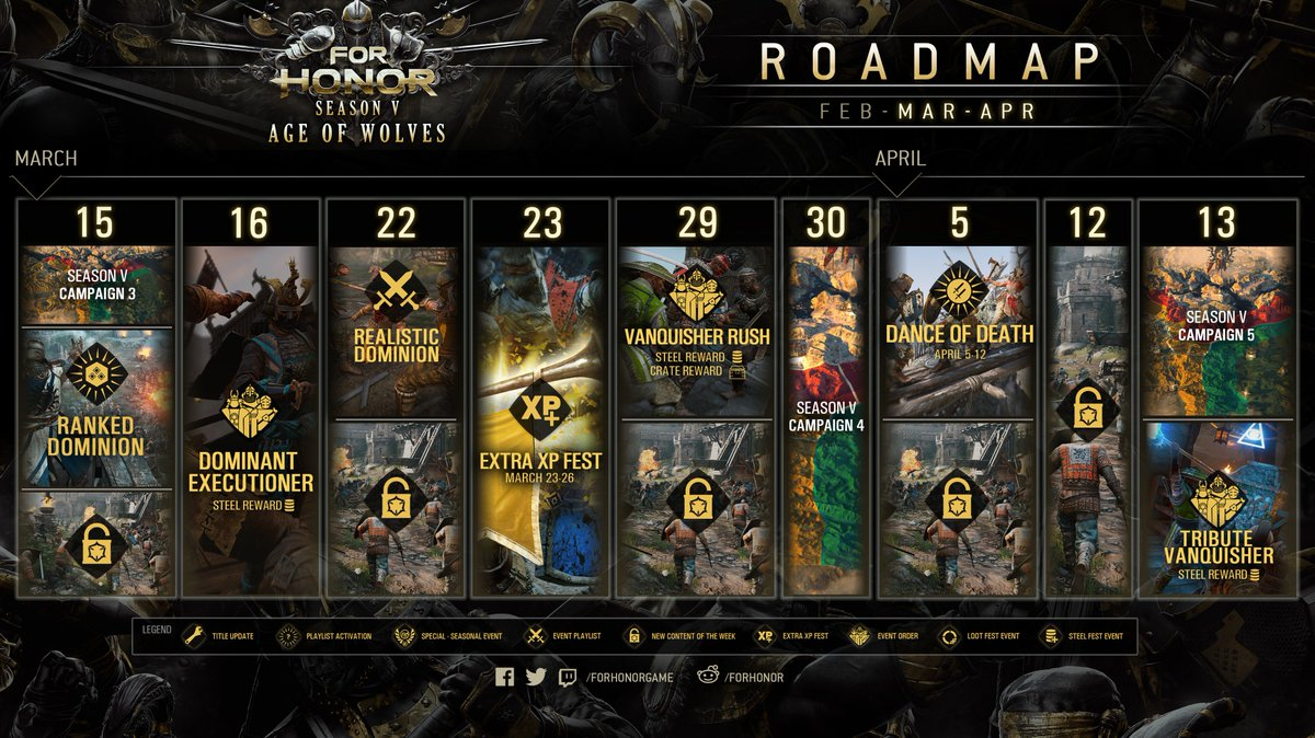 "For Honor on Twitter: ""Warriors, here's a look at what's coming in For Honor!  See you on the battlefield ;)… """