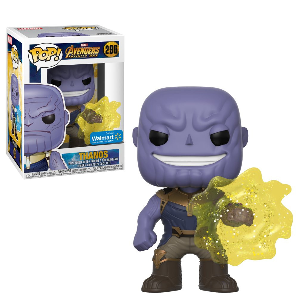 RT & follow @OriginalFunko for the chance to win a @Walmart exclusive Thanos Pop!