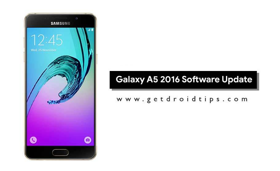 Download Install A510YDXS5BRB1 February 2018 Security for Galaxy A52016...