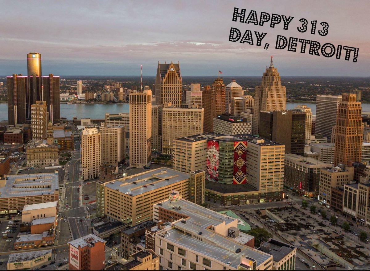 Happy #313Day, #Detroit!  Photo by Nadir...
