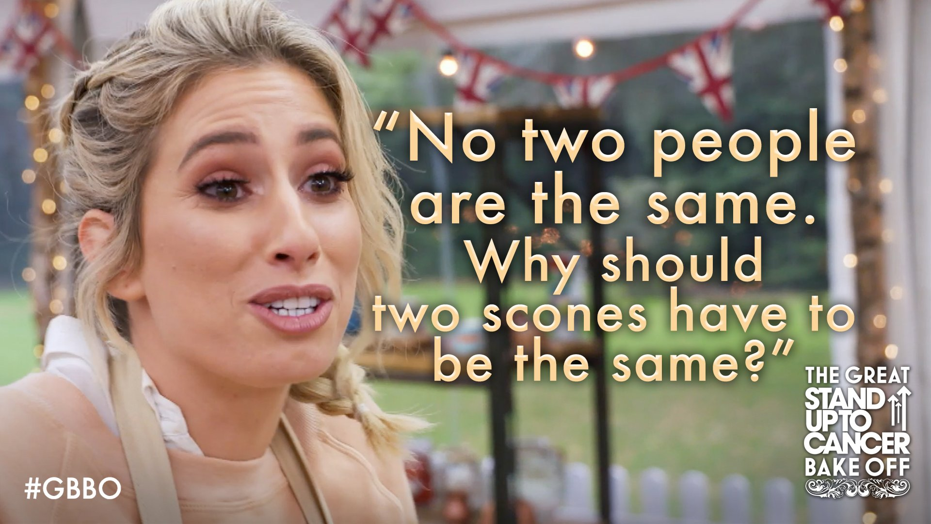 RT @BritishBakeOff: We like the thinking, @StaceySolomon! #GBBO https://t.co/VYaOeVfyvd