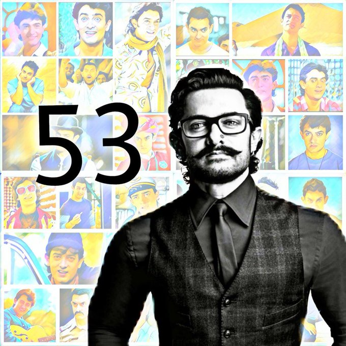My teacher, my inspiration, my perfection Aamir bhai. Mujhe tumse pyaar karti hoon. Happy birthday