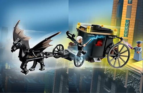 Take a look at the new #FantasticBeasts #CrimesOfGrindelwald LEGO set, showing Grindelwalds escape from MACUSA! the-leaky-cauldron.org/2018/03/13/fir… @LEGO_Group