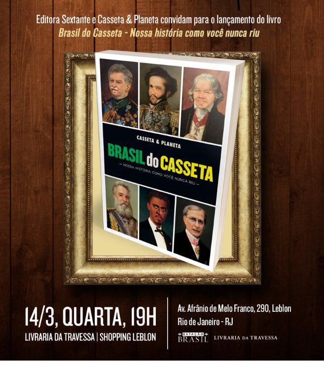 Nesta quarta, 24/3 no Rio. Livraria Travessa do Leblon