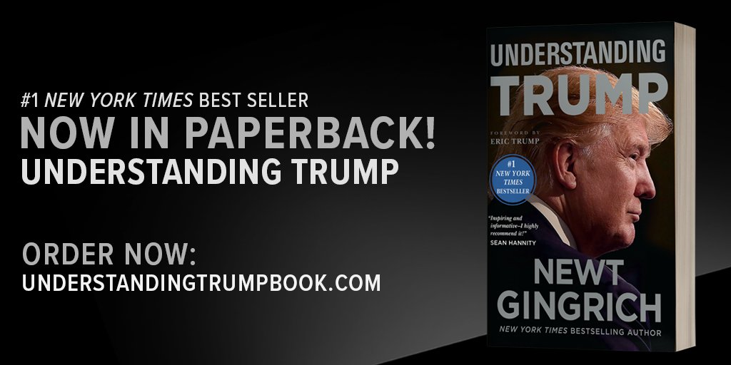 My #1 @nytimes best seller, Understanding Trump, was released in paperback today! Order here: https://t.co/F7nT2hBZax