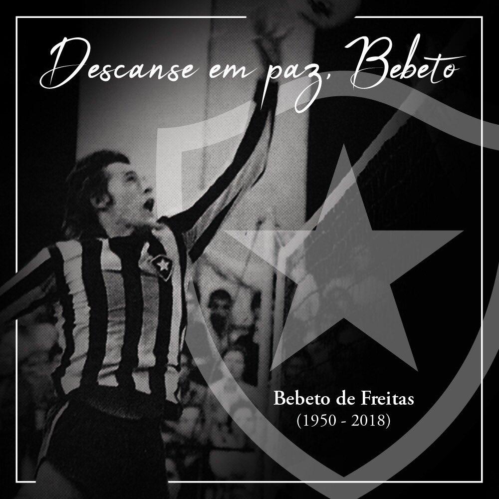 Botafogo F.R.'s photo on Bebeto de Freitas