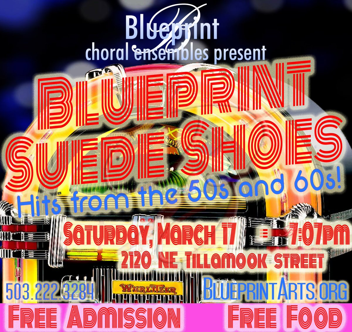 Portland music pdxmusic twitter blueprint arts blueprint suede shoes take you on a journey back to the jukebox era free concert starts at 707p saturday httpbit2gqwnjb malvernweather Choice Image