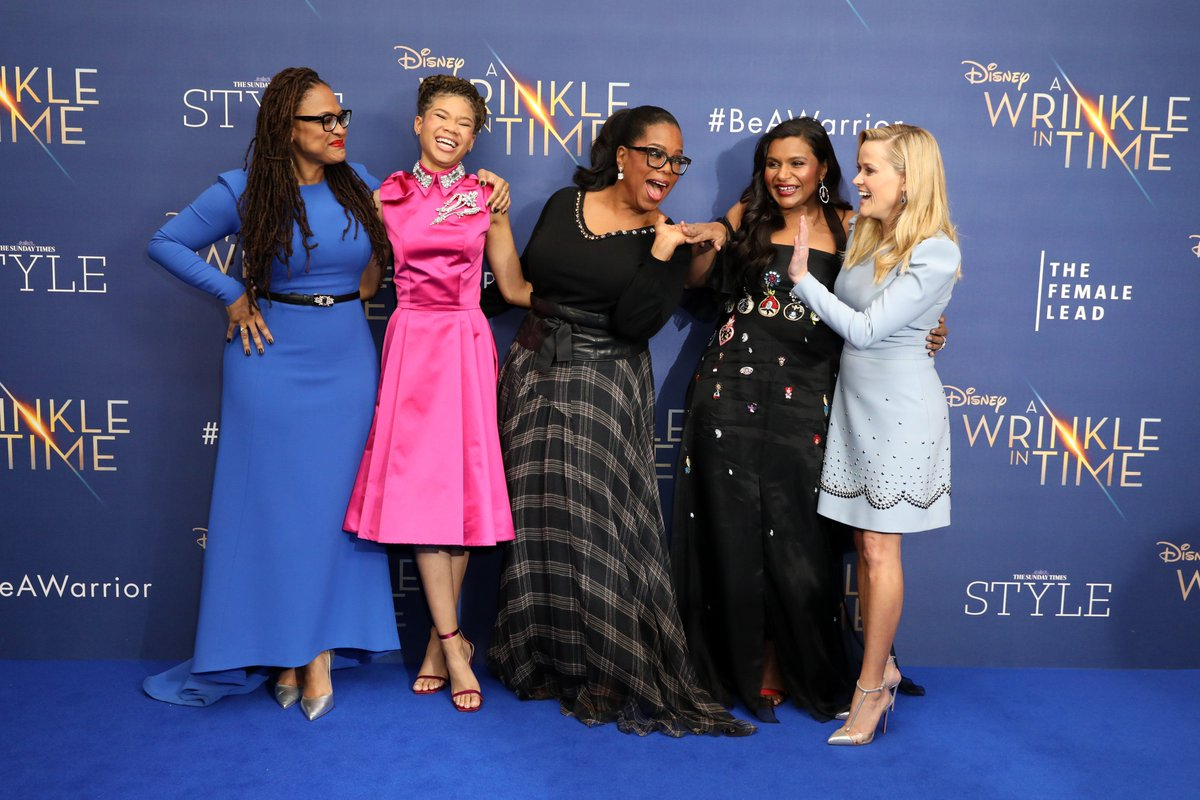 Thats a wrap from the #WrinkleinTime European premiere! Remember to #BeAWarrior and see it in UK cinemas March 23rd. Find out more at wrinkleintime.co.uk