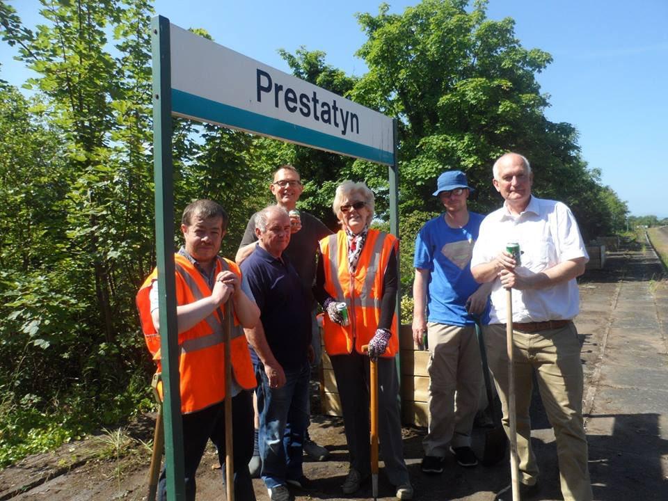 Good to attend the friends of #Prestatyn Railway station AGM 2018 #volunteers &amp; funding always sought. #Denbighshire #NorthWales #stationadopters #flowers @walesinbloom @RHSBloom #communityvolunteers #railwaystation<br>http://pic.twitter.com/LDsv7UioVB