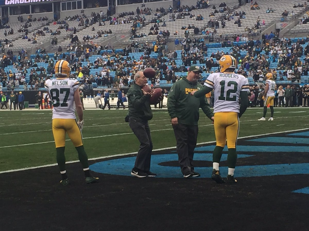 Lily Zhao's photo on Aaron Rodgers
