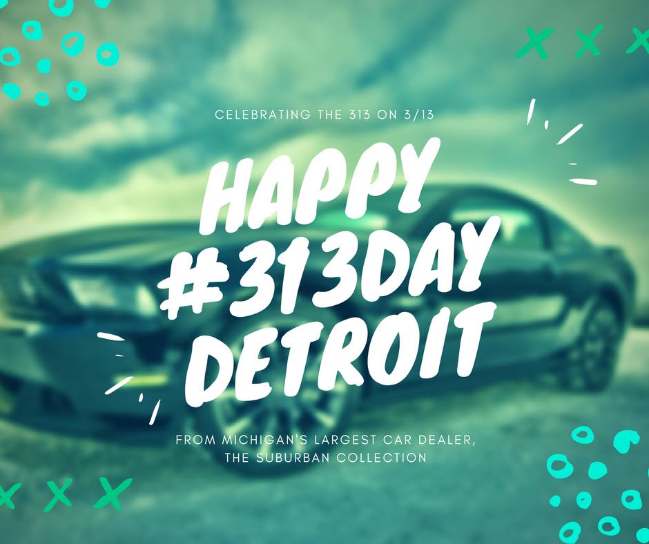 Happy #313Day #Detroit. Celebrating the...