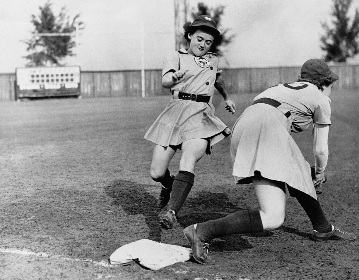 all american girls baseball league - HD1226×959