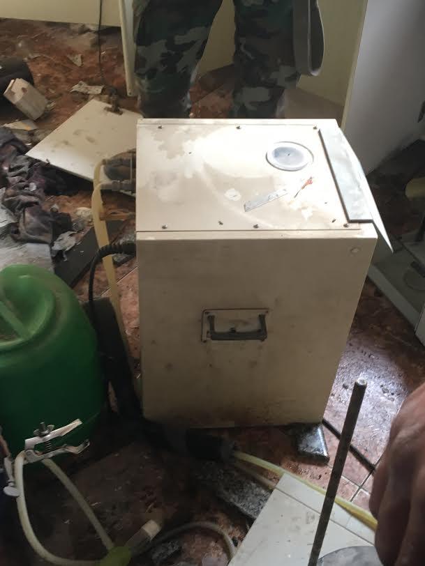 Лаборатория по производству хим.оружия в Восточной Гуте