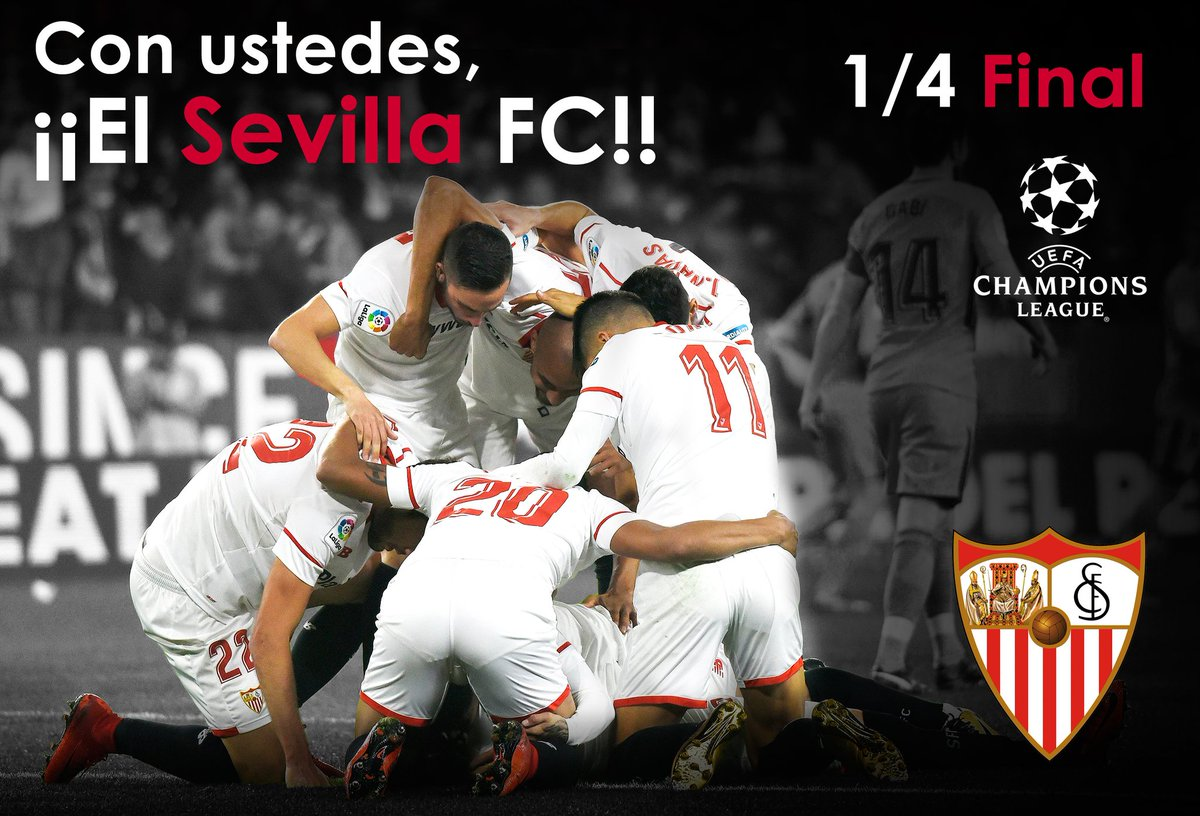 ¡Golpe en la Champions! Sevilla eliminó al United y avanzó a cuartos DYMvdAFWAAEUG71