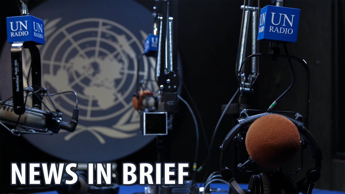 """#News in Brief #13Mar:  •Children in eastern #Ghouta likely victims of war crimes •@Refugees issues new protection guidance for those fleeing #Venezuela •Possible """"crime of genocide"""" in Rakhine state, #Myanmar    https:// news.un.org/en/audio/2018/ 03/1004892 &nbsp; … <br>http://pic.twitter.com/Ii6UtVbH0d"""
