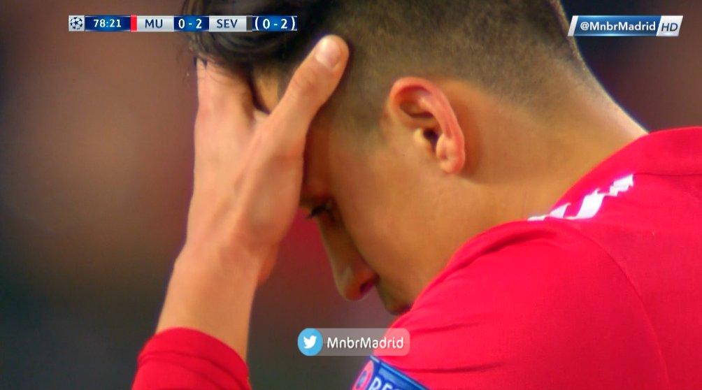 دوري ابطال اوروبا دور الـ16 اهداف المباراة : مانشستر يونايتد (1) × (2) إشبيلية بصوت حفيظ الدراجي #MUNSEV 