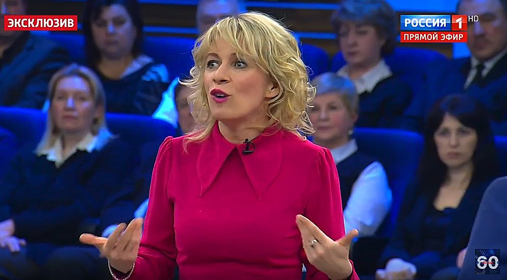 #Russias Ministry of Foreign Affairs spokeswoman indignantly puts on a You talkin to me? routine with respect to the British ultimatum re: #Skripal. Zakharova argues that after Putins speech about new types of nuclear weapons, no one can deliver such ultimatums to Russia.