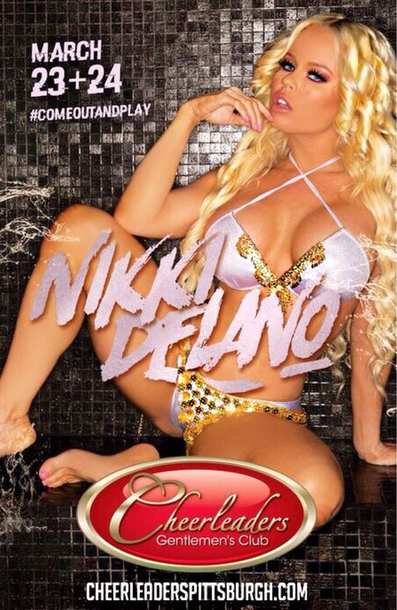 Meet me live next weekend I will be feature dancing at @cheerleaderspgh in Pittsburgh 💃 March 23 & 24th