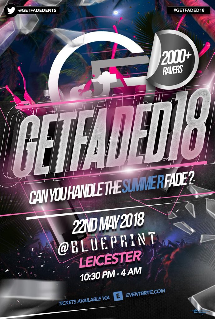 on twitter getfaded18 220518 blueprint leicester can on twitter getfaded18 220518 blueprint leicester can you handle the summer fade ticket link httpst1uoy4kh7y0 malvernweather Gallery