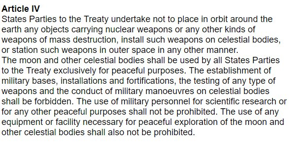 Does Donald Trump know about The Outer Space Treaty of 1967? Does Donald Trump know anything? #SpaceForce