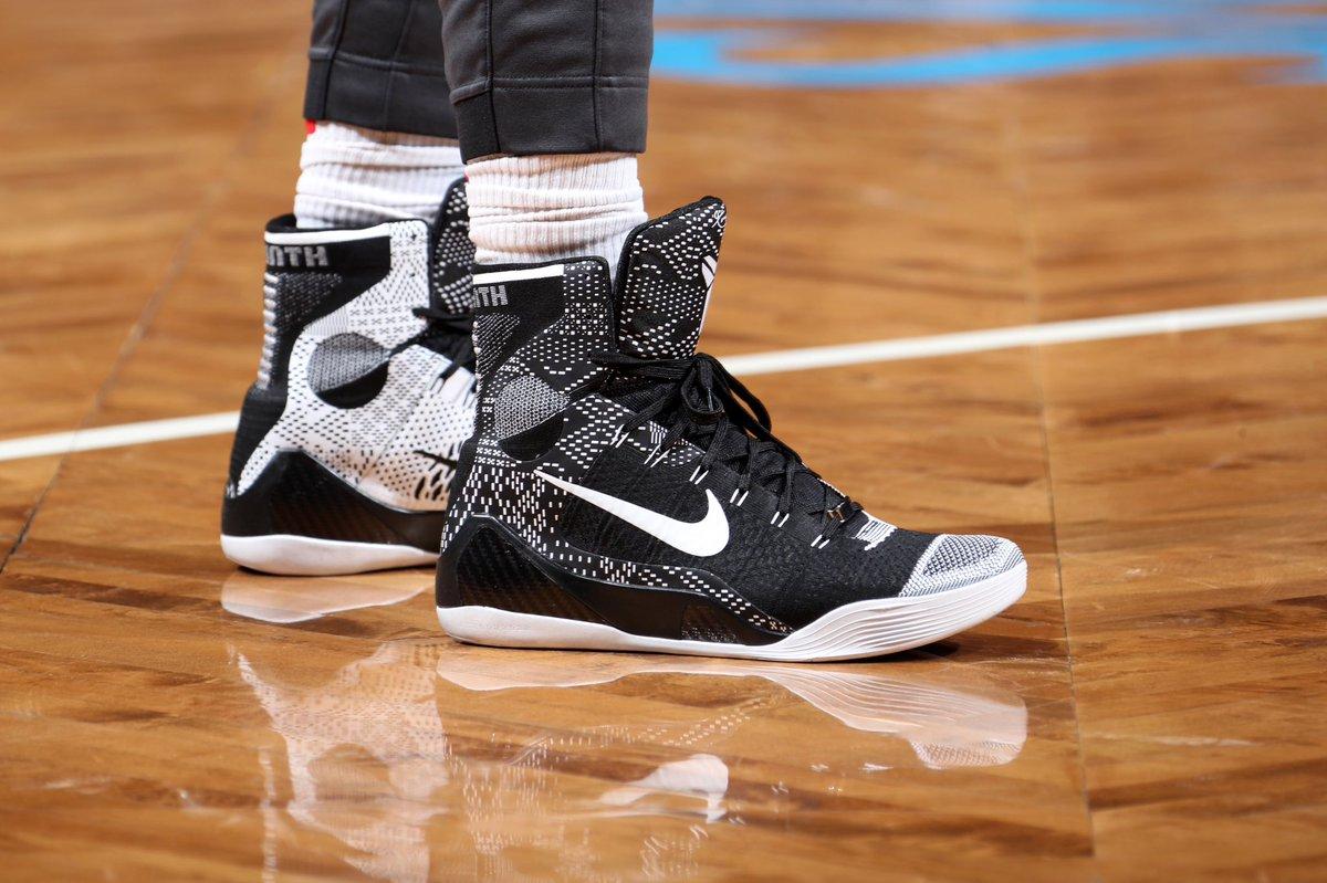 "DeMar DeRozan in the Nike Kobe 9 Elite ""..."