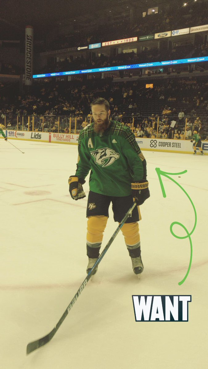 Hockey News: The Wild wore St. Paddy's Day warmups yesterday (from Mike  Chamernik and Kyle Minogue). … The Predators also warmed up in ...