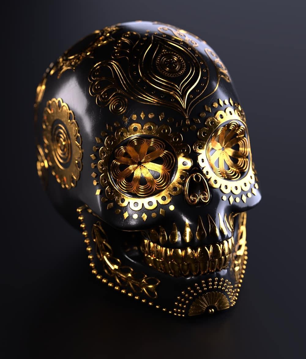 обошлось без картинки золотого черепа начинается