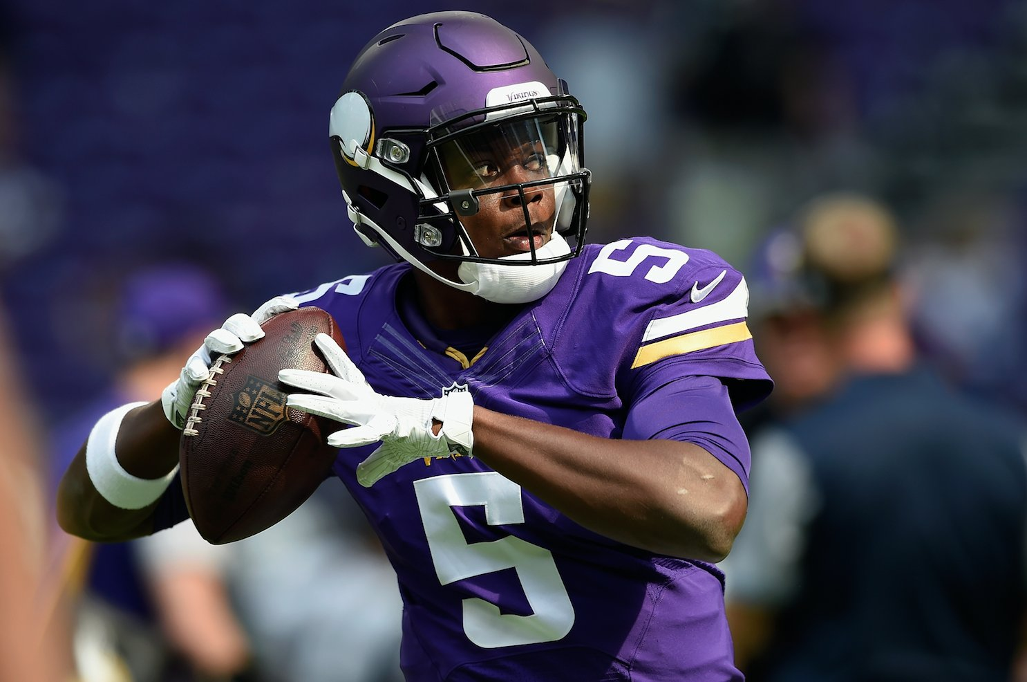 Its not necessarily a shock but the Minnesota Vikings will officially move Teddy Bridgewater to the active 53man roster