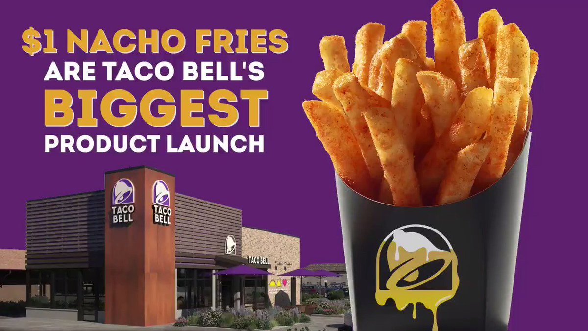$1 #NachoFries are kind of a big deal......