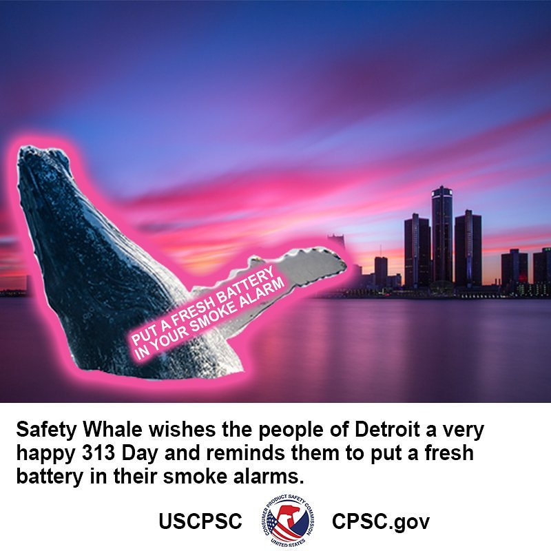 From Safety Whale and all of us here at...