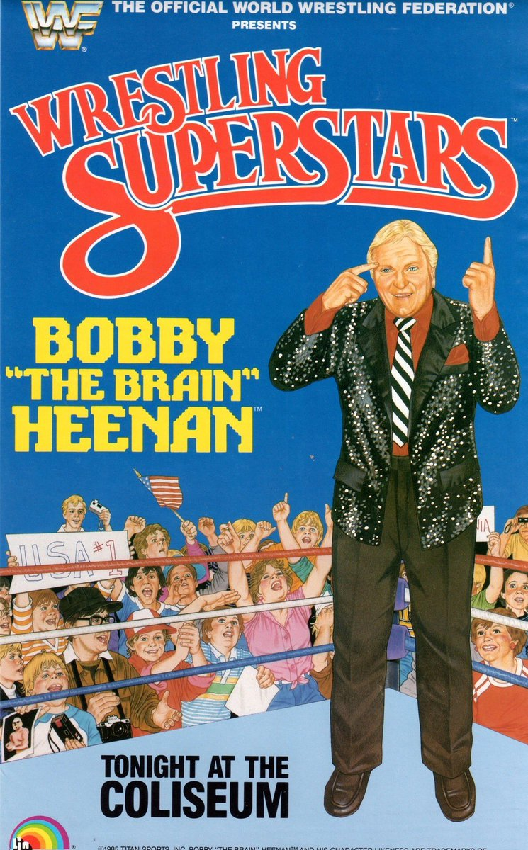 How many RTs can Bobby The Brain Heenan get? 100? 200? 500? Lets find out!