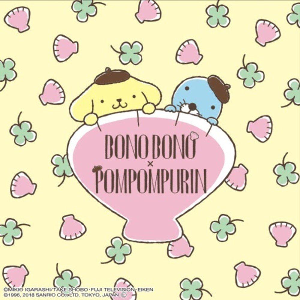 サンリオのポムポムプリン×ぼのぼの - 雑貨・食器・アパレルなどコラボグッズ - https://t.co/F4lInzvQk6